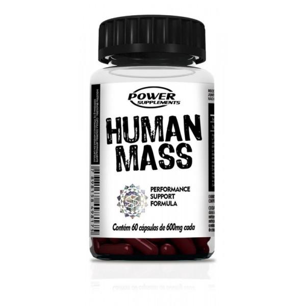 Human Mass 60 Cáps - Power Supplements