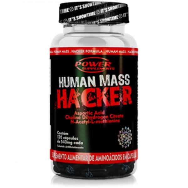 Human Mass Hacker 120 Cáps - Power Supplements